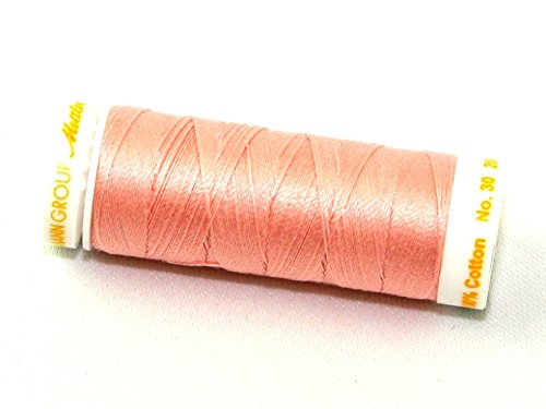 Mettler No 30 Machine Embroidery Quilting Thread 200m 200m 800 Cherry Blossom - each
