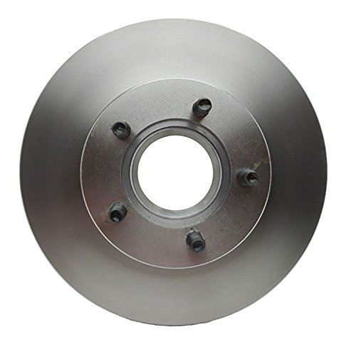 ACDelco 18A620A Advantage Non-Coated Front Disc Brake Rotor and Hub Assembly