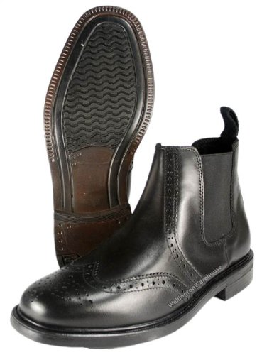 Oaktrak  Appleby,  Herren Chelsea Boots Schwarz