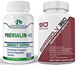 Cheap Extra Strength Uterine Fibroid Package – Dissolve Uteirne Fibroids Quickly (Serrasolv 360 90 Cap & Previalin 60 Cap_