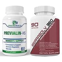 Extra Strength Uterine Fibroid Package - Dissolve Uterine Fibroids Quickly (Serrasolv...