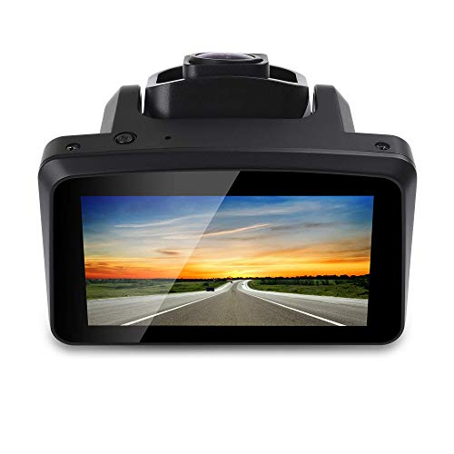 "Car Dash Cam Raynic Dashboard Camera Recorder 3"" IPS LCD FHD 1080P 170° Wide Angle Driving Recorder with G-Sensor, WDR, Night Vision,Loop Recording"