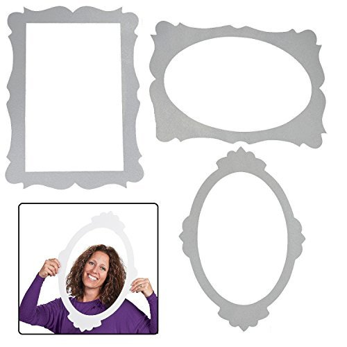 3 Picture Frame Cutouts - Party Decorations & Wall Decorations by Fun Express -