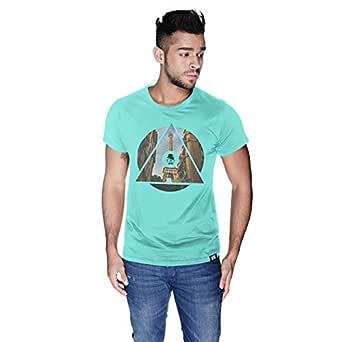 Creo Paris T-Shirt For Men - S, Green