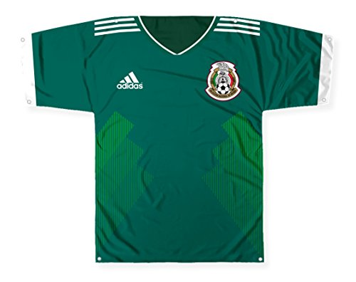 Big Time Jersey JBP1S-01-ST71 Mexico Jersey-Shaped Flag, 57