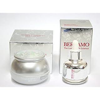 [BERGAMO] Whitening Ex Cream 50ml & Luxury Skin Science Brightening Ex Whitening Ampoule 30ml / Korean Cosmetics