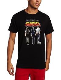 Men's Beastie Boys Sabotage T-Shirt, Black, Large