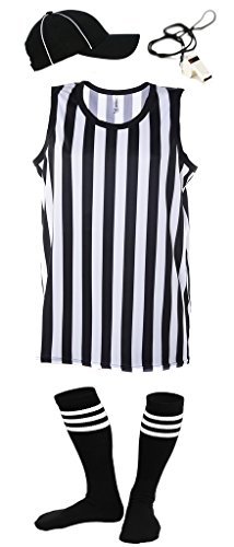 Mato & Hash Referee Tank Top for Men | Referee Uniform Top for Waiters, Costumes, More! - RS CA2250 -