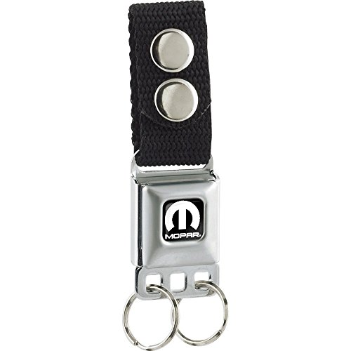 Seat Belt Buckle Emblem (Mopar White M Seat Belt Buckle)