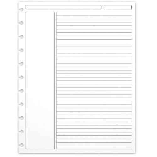 Levenger 300 Circa Annotation 1/4-Inch, Ruled Refill Sheets LTR (ADS5910 LTR) ()