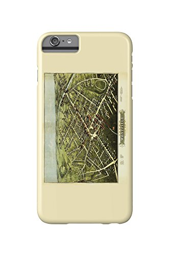 westfield-massachusetts-panoramic-map-iphone-6-plus-cell-phone-case-slim-barely-there