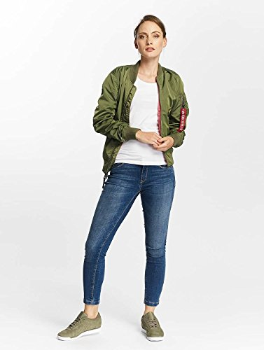 Donna 1 Giubbotto Verde Alpha MA IP Industries Reversible TT Bomber Giacche gYwq5nAxqO