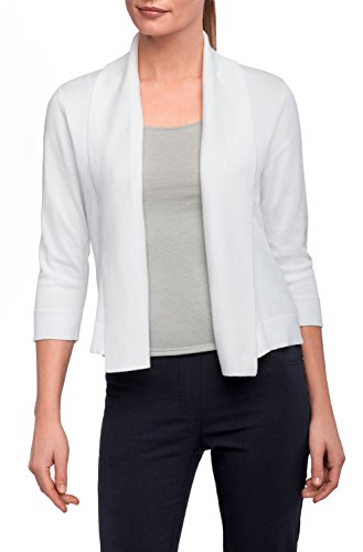 89th + Madison Women's Banded Collar Shrug Cardigan Bleached -