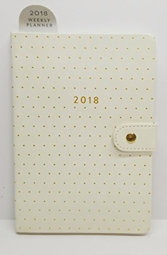 Burgundy Simulated Leather Cover (2018 Eccolo Designer 12 Month Weekly Agenda Planner, 5.25 x 7.75