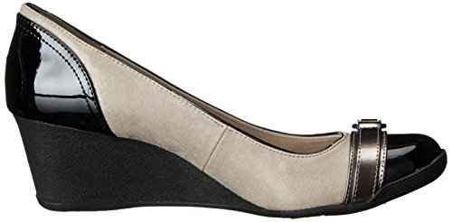 74f8761c3c Get Anne Klein Sport Women's Tamarow Fabric Wedge Pump at ...
