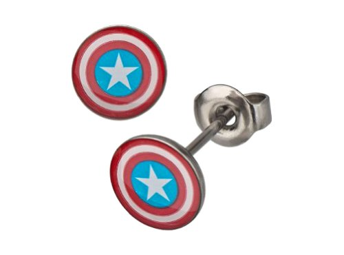marvel earrings for men - 8