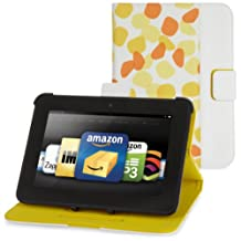 """Belkin Petals Standing Cover for Kindle Fire HD 7"""", Topaz (will only fit Kindle Fire HD 7"""")"""