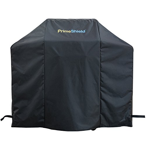 PrimeShield Premium BBQ Grill Cover, 70-inch Heavy Duty Waterproof Grill Cover for Most Brands of Grill - Black