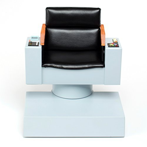 Star Trek Icons Captain Kirk - QMx Star Trek TOS 1:6 Scale Captains Chair FX Replica