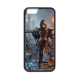 iPhone6 Plus 5.5 inch Phone Case Black Dark Souls ZIC444419