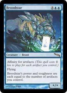 Broodstar (Magic the Gathering : Mirrodin #31 Rare)