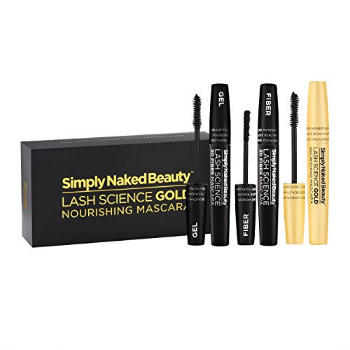 3D Fiber Lash Mascara with Eyelash Enhancing Serum by Simply Naked Beauty. Infused with Organic Castor Oil to nourish lashes. Organic & hypoallergenic ingredients. Waterproof, smudge proof & last all by Simply Naked Beauty (Image #6)