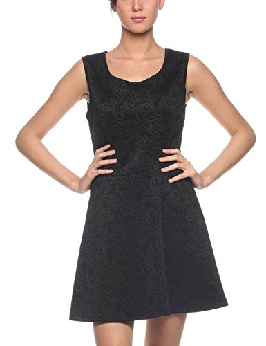 Les Sophistiquees Abito Smanicato, Vestido Para Mujer Negro (Noir 29Fl)