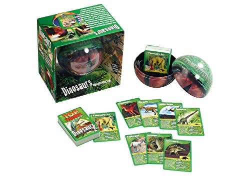 Dinosaurs Top Trumps Collector's Tin Card