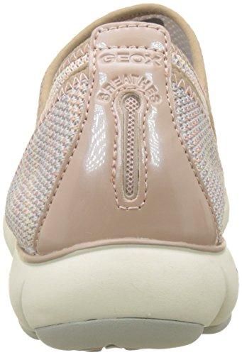 Basses Antique Rose Sneakers Nebula Geox Geox Rose B Nebula Femme RS8X1qxPw