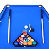 "IF 55"" Folding Billiard Table Top Pool Game with"