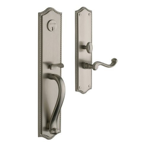 Baldwin Hardware 6963.150.RENT Bristol set Trim Front Door Handle by Baldwin