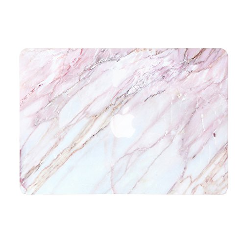 iDonzon Pink Marble MacBook Pro 15 inch Case 2012-2015 Release, Soft-Touch Matte Plastic Hard Protective Case Cover for MacBook Pro 15