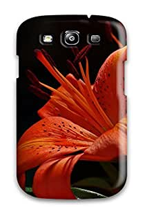 Hot Fashion FIwrPBb12965zsGlO Design Case Cover For Galaxy S3 Protective Case (flower)