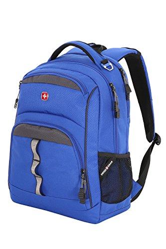 SwissGear Stockton Blue 19 Inch Backpack, Grey, One Size -