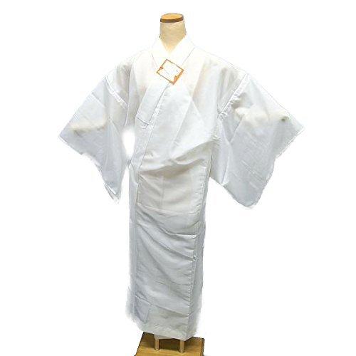 日本製 仕立て上がり 洗える 夏物絽長襦袢 プレタ 白地 j-152 (MLサイズ) 半衿付き 着付け用小物 和装小物 和装下着 B01BZSC3XM   Mサイズ