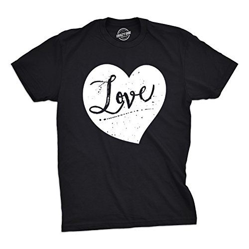 Crazy Dog Tshirts Mens Love Heart Tshirt Cute Adorable Valentines Day Cupid Tee For Guys -4XL