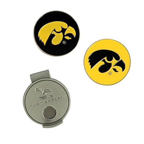 Team Effort Iowa Hawkeyes Hat Clip & 2 Ball Markers