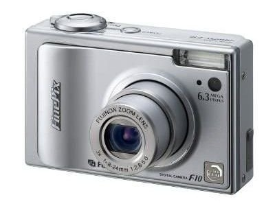 Fujifilm Finepix F10 6.3MP Digital Camera with 3x Optical Zoom