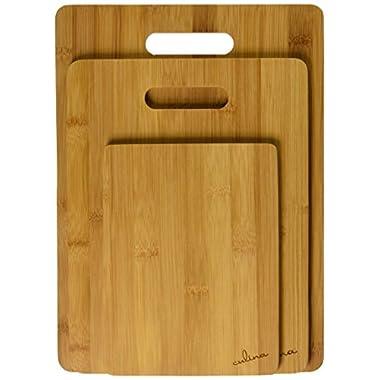 Culina Bamboo Cutting Board, Set of 3