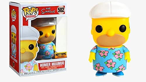 Funko Pop The Simpsons Homer in A Muumuu Vinyl Figure Exclusive