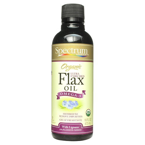 Ultra Lignan Flax Oil - Spectrum Eseentials 45310 Organic Flax Oil Ultra Lignan by Spectrum