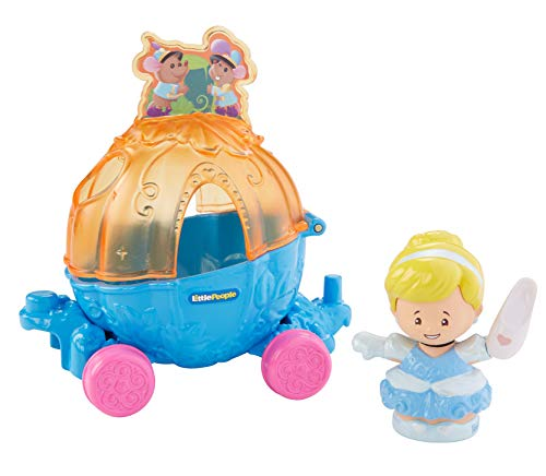 Fisher-Price Little People Disney Princess, Parade Cinderella & Pals Float