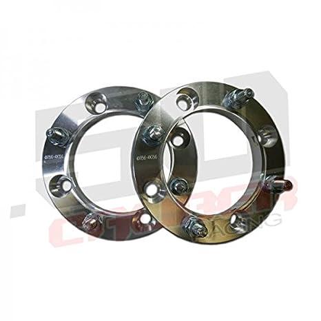"Four 1/"" 4x156 Wheel Spacers 12x1.5mm Stud Polaris General 4 Ranger XP 900 1000"