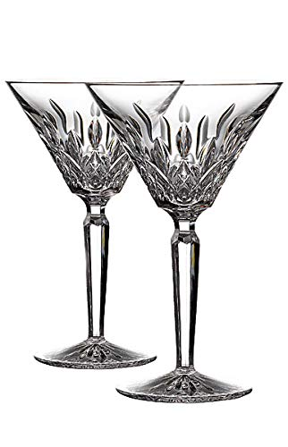 Waterford Lismore Martini Set of 2