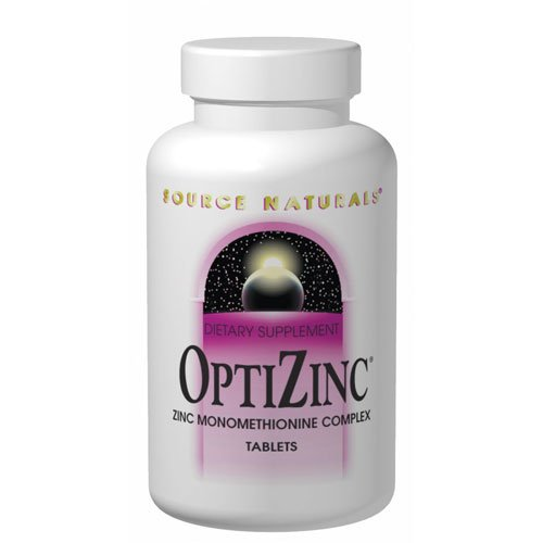 Source Naturals Optizinc Zinc Monomethionine 30mg, 120 Tablets