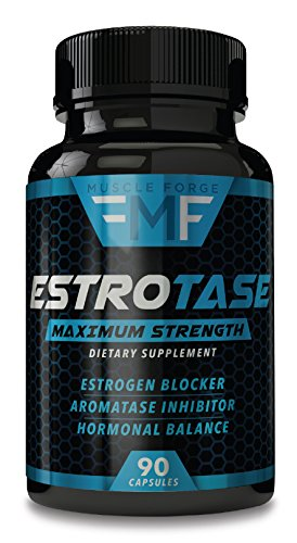 ESTROTASE Maximum Strength Estrogen Blocker - Natural Aromatase Inhibitor - Hormone Balancer