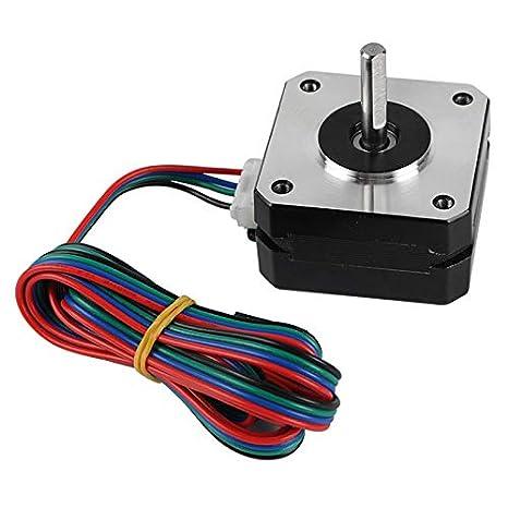 Semoic Piezas de la Impresora 3D Extrusora NEMA 17 Motor Paso a ...