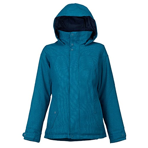 Burton Women's Jet Set Jacket, Jaded, Medium (Women Snowboarding Set)