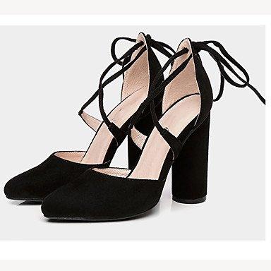 Zormey La Mujer Sandalias Verano Zapatos Club Velvet Parte &Amp; Traje De Noche Chunky Talón US6.5-7 / EU37 / UK4.5-5 / CN37