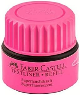 Rosa Faber-Castell 154928 Refillstation per Textliner 1543 25 ml 1546 e 1548